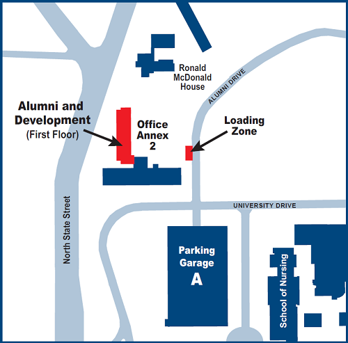 Alumni Affairs Map