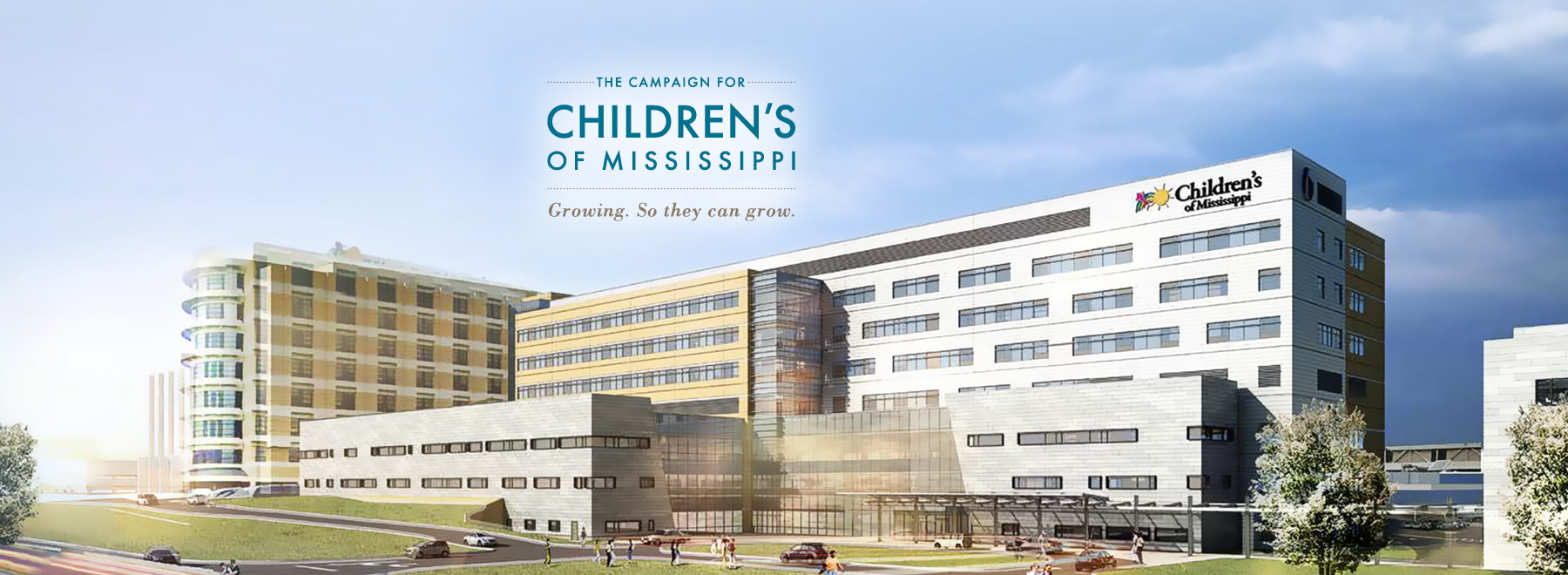 New Childrens Hospital Architect rendering.