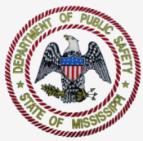 Department of Public Safety State of Mississippi logo.