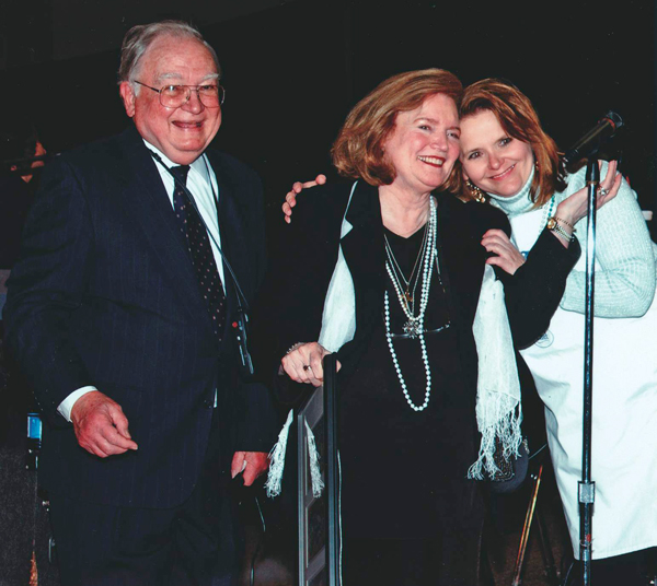 Carl and Dr. Ruth Black with Barbara Kellett