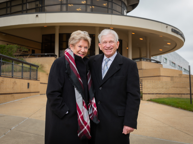 Pat and Jim Coggin of Jackson started the fund to renovate the Children's of Mississippi Center for Cancer and Blood Disorders with a $1.5 million gift.