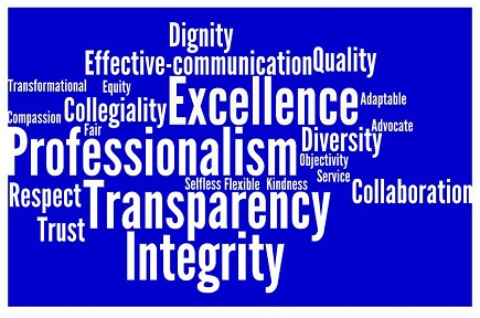 Faculty Affairs Values