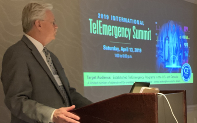 Dr. Richard Summers speaks at TelEmergency Summit