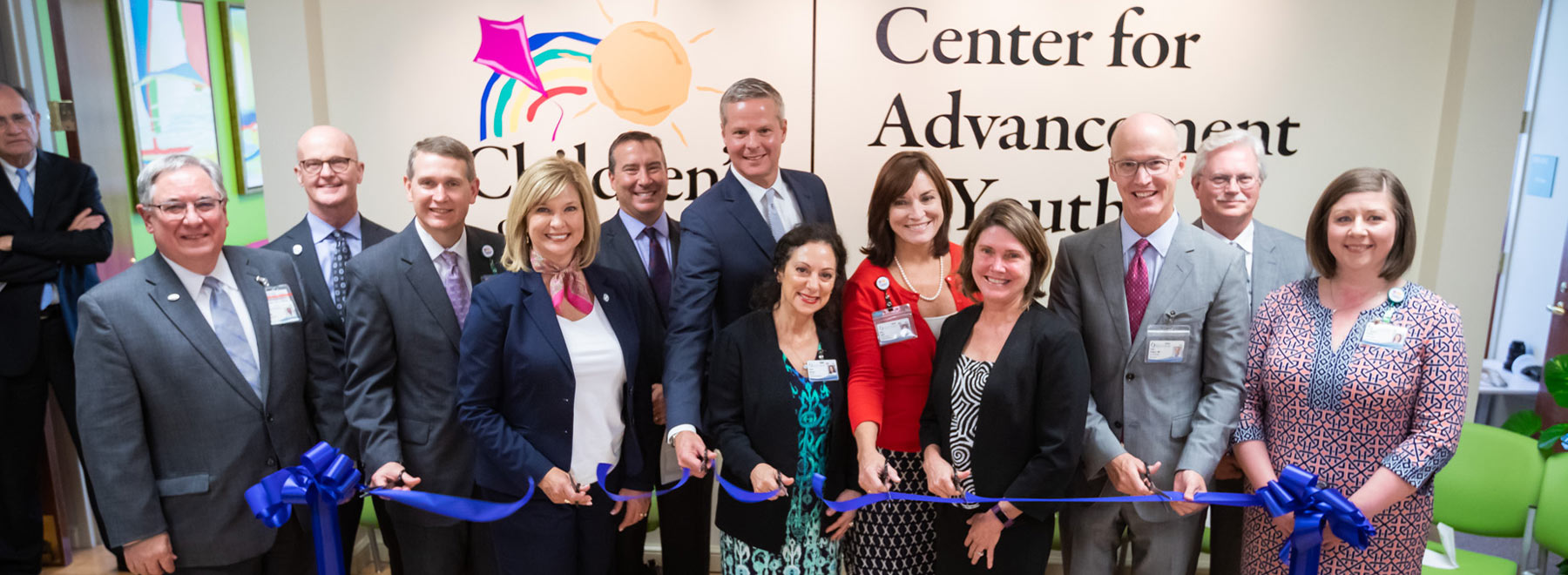 Leaders cut ribbon on new, larger home for Center for Advancement of Youth