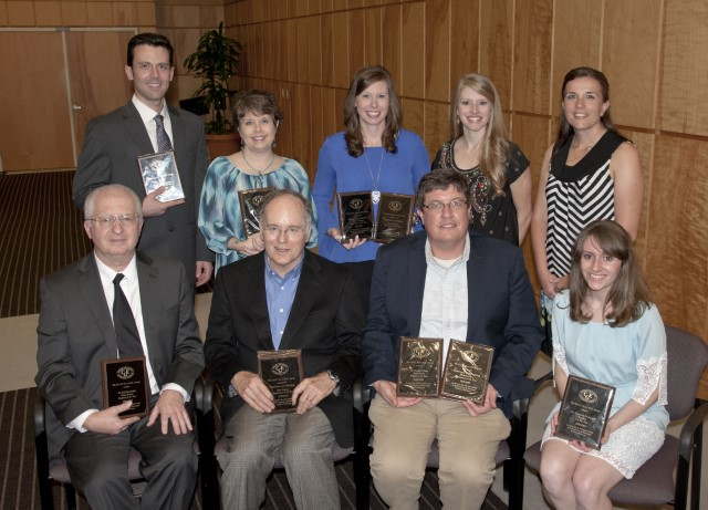 First-place winners of the annual Evers Award