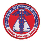 This colorful patch adorns the uniforms and lab coats of MLS students and faculty at UMMC.