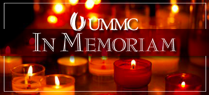 Original UMMC faculty member dies
