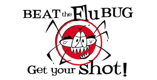 Sack the flu, protect our patients - get blitzed