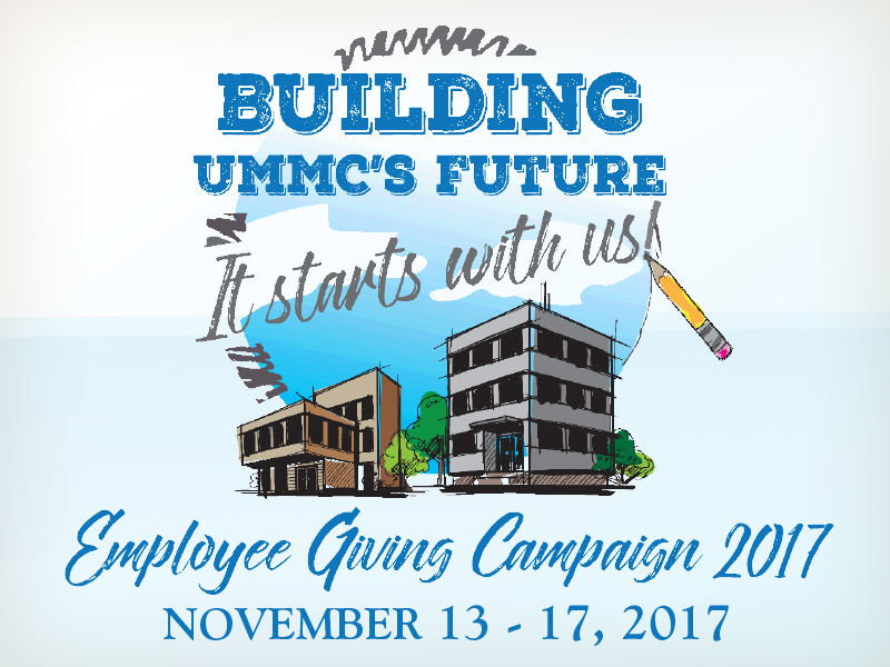 Weeklong campaign lets employees give back to UMMC