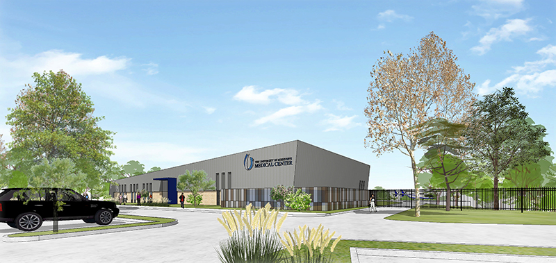 MCES facility architectural rendering