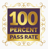 SOD 100 percent pass graphic
