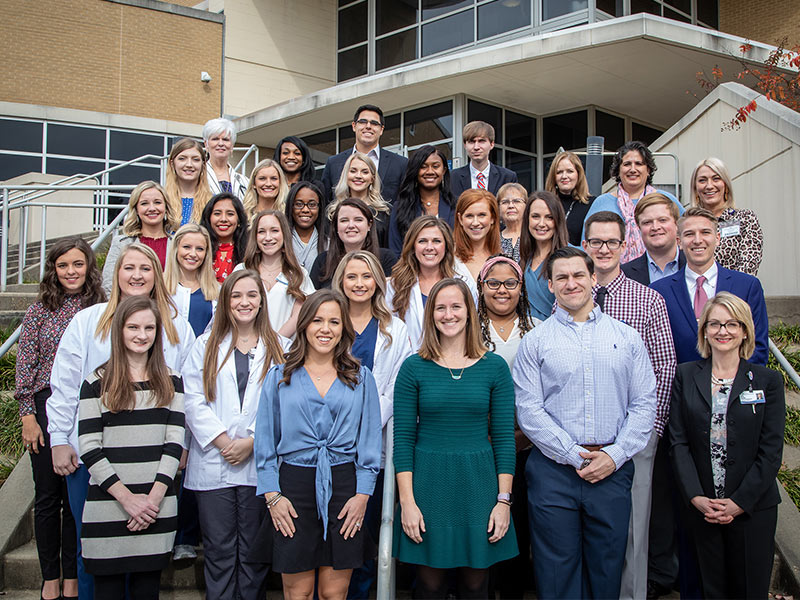 More than three dozen students and faculty in the School of Health Related Professions are among the newest inductees for the national scholastic honors organization, the Alpha Eta Society.