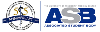 Student National Medical Association and Associated Student Body Logos