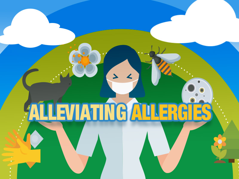 UMMC immunology expert: Allergy season doesn't have to be miserable