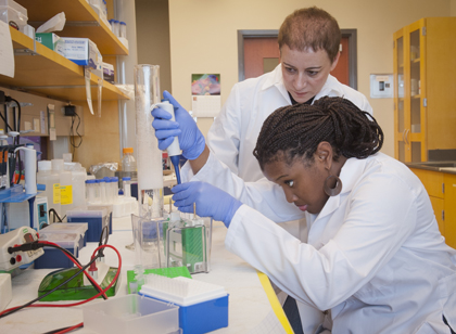 Cure for prostate cancer focus of HBCU students' research