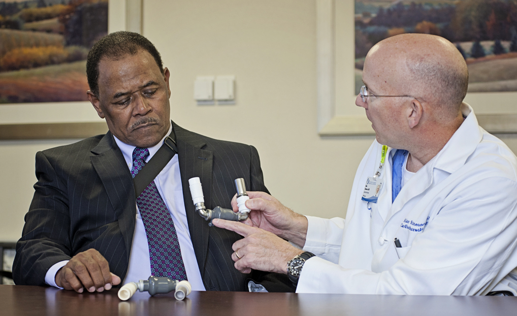 Pump gives heart failure patients quality of life, hope for future