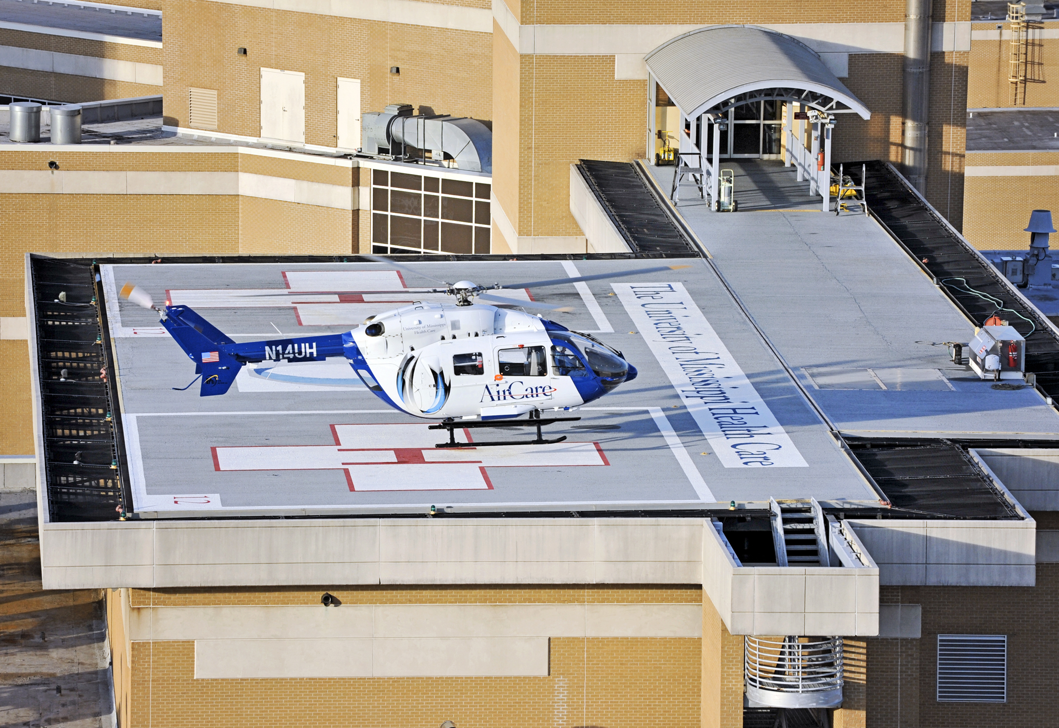 AirCare transport helicopter