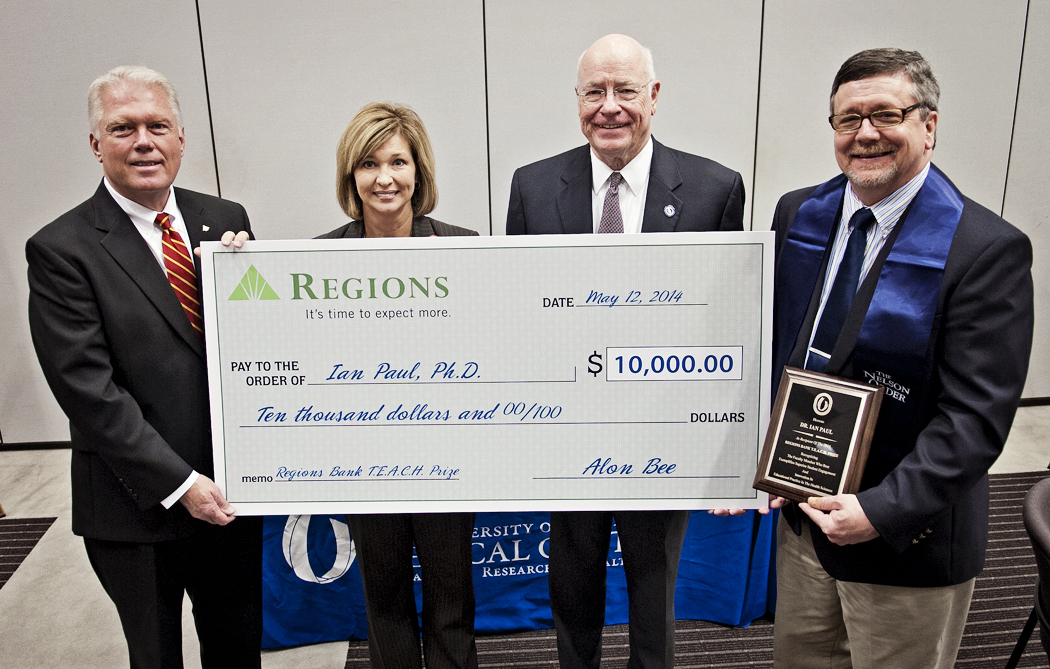 Regions Bank recognizes UMMC neuroscientist with second annual ...