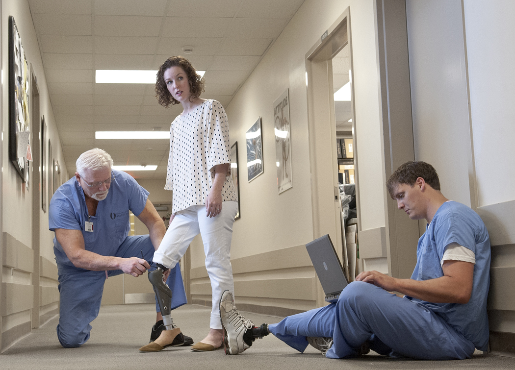 Technology, tenacity key on dance floor and in life, says UMMC prosthetics expert