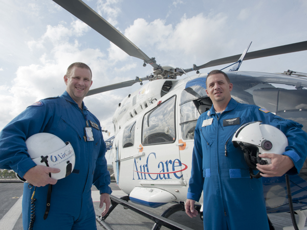 Critical-care designation sets AirCare paramedics apart