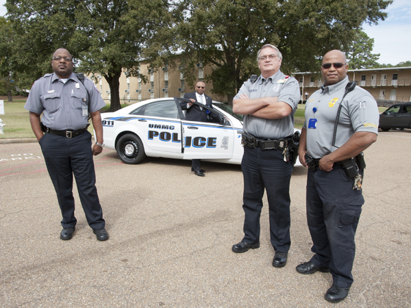 Campus Police makeover makes UMMC's finest stand out