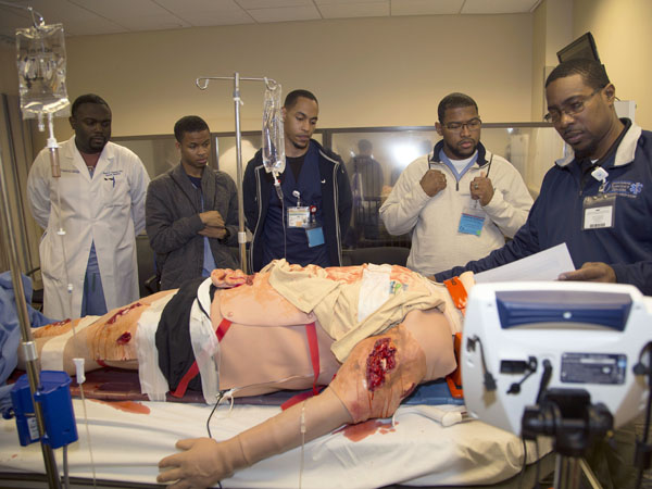 Recruitment day confronts drop in black male medical students