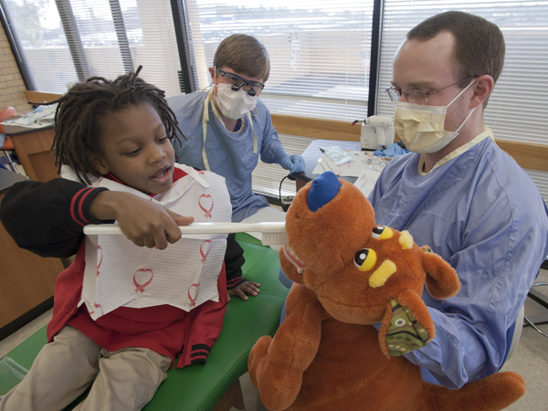 Give Kids A Smile puts grins on JPS students' faces