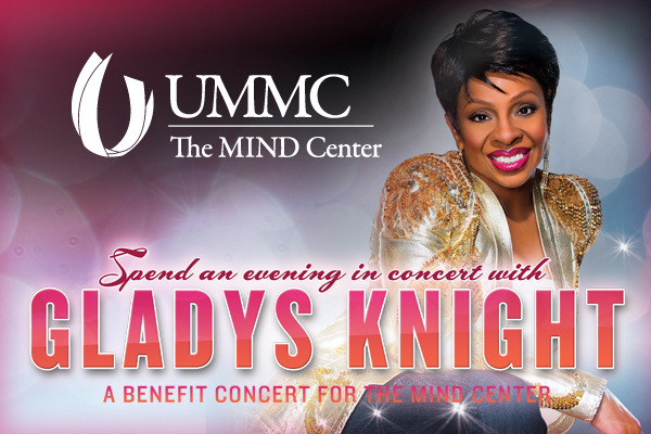 All aboard! Gladys Knight to play Jackson concert to benefit MIND Center