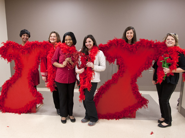 UMMC dons red for heart disease awareness