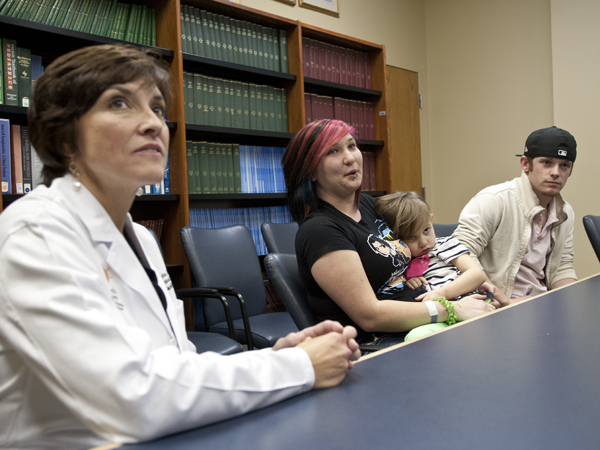Physician, family discuss Helena White's 'remarkable' recovery