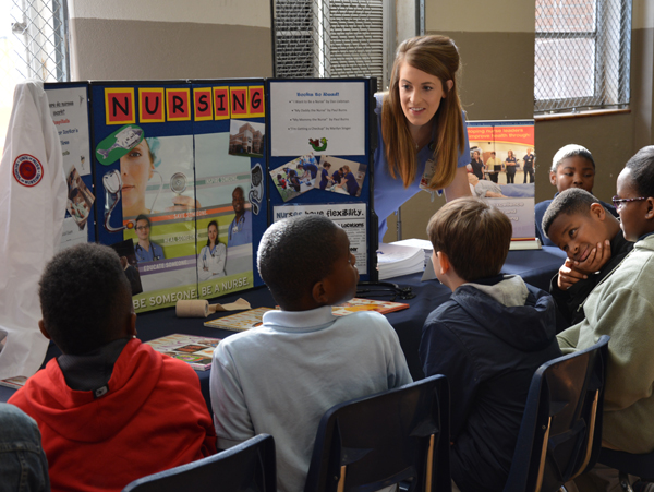 UM, UMMC schools engage elementary students at Delta career fair
