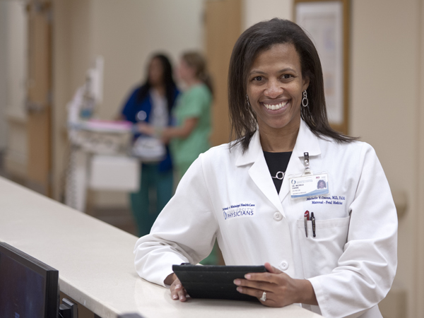UMMC physician honored for visionary work with women