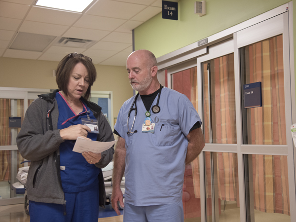 Front-line caregivers keep patients safe