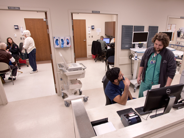 Extra staff, efficiency make for shorter ED waits