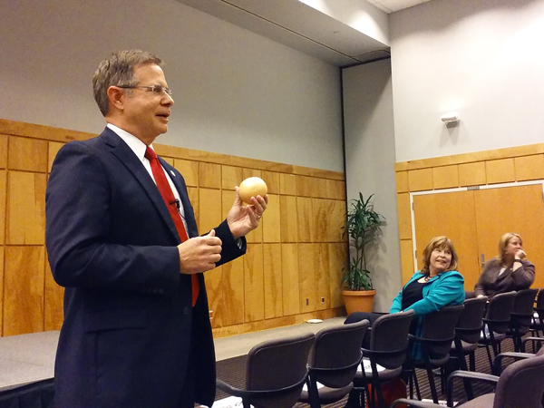 Vitter pledges his support for UMMC, medical research