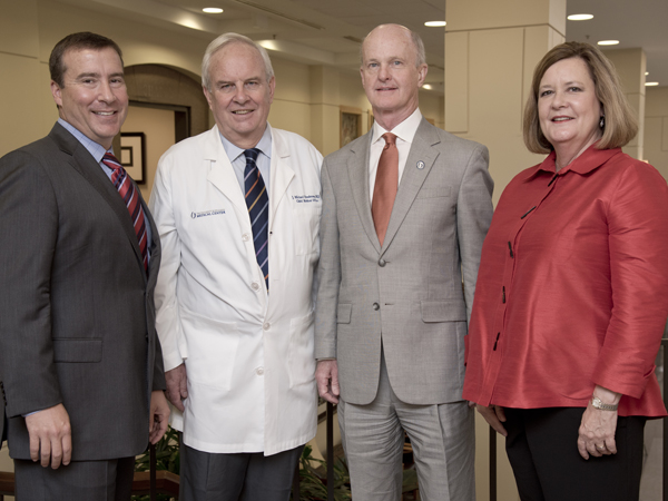 Kevin Cook (from left), Michael Henderson, Charles O'Mara, Terri Gillespie