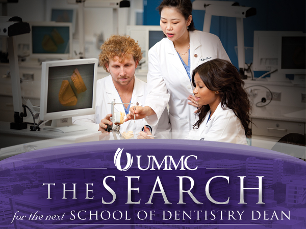 School of Dentistry search down to two