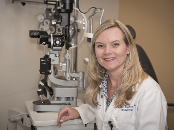 Crowder shapes vision for ophthalmology