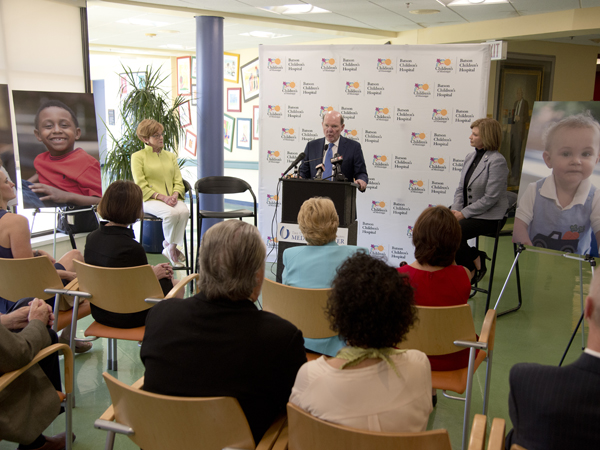 $100M Children's of Mississippi campaign starts with $10M Sanderson gift