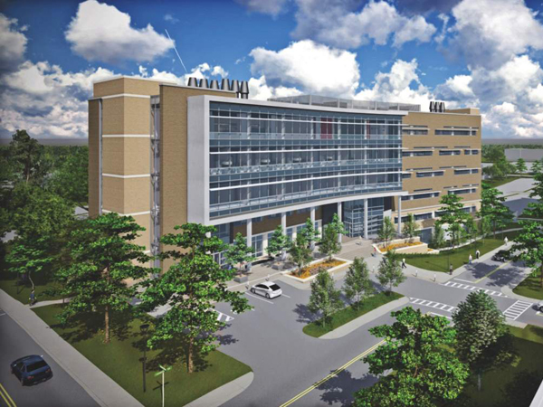 The Translational Research Center, scheduled for completion in 2017, is just one new resource that will serve UMMC scientists across disciplines.