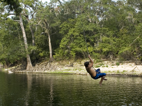 Research finding: Over-the-water rope tree swings fraught with danger