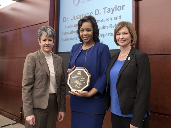 SHRP's Taylor recognized for diversity efforts