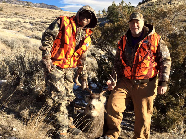 Freddie Green Sr. and his son and namesake enjoyed a hunting trip in Montana thanks to the Catch A Dream Foundation.