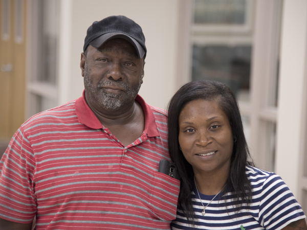 Fred Thomas brings his daughter, Artoria Woodson, to many of her appointments at UMMC.