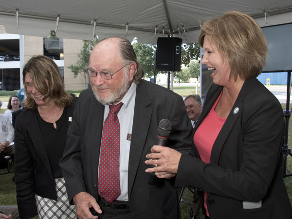 Newest school on UMMC campus named for longtime supporter