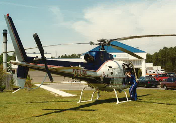 Before becoming AirCare in 1996, the medical helicopter transport was named AirLink.
