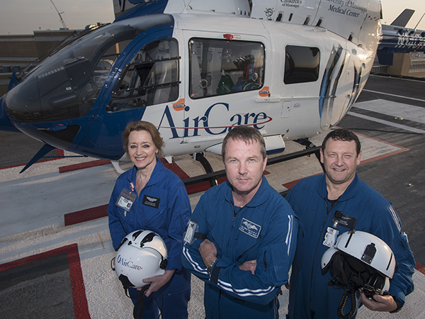 AirCare trio is cornerstone of UMMC's medical air transport