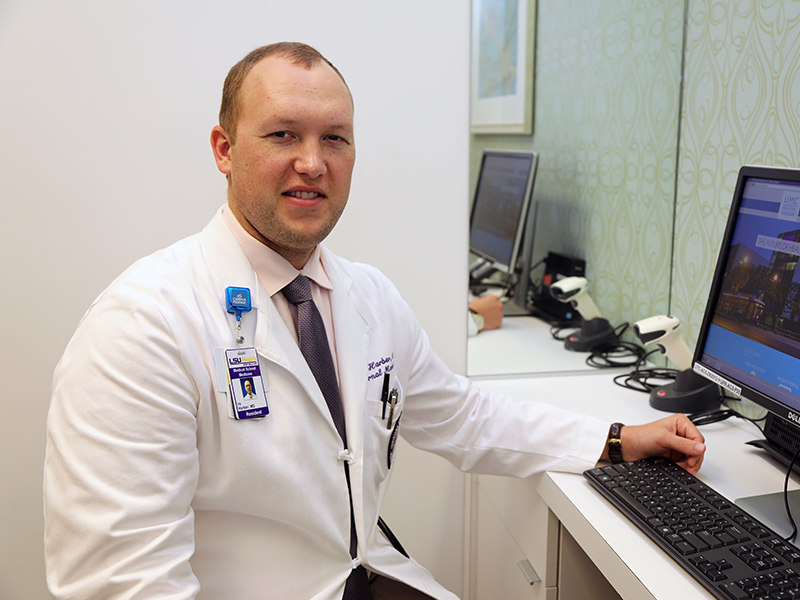 University of Mississippi School of Medicine graduate Dr. Dan Harber is completing an internship at the LSU Health Sciences Center in New Orleans. He'll return to UMMC for his dermatology residency then practice for at least six years at  Magnolia Regional Health Center in Corinth.