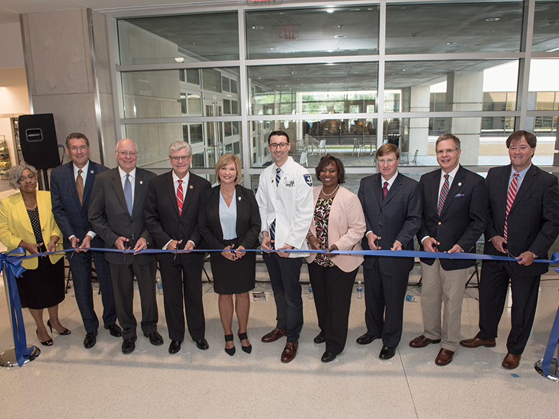 Dedication of new medical school building bodes well for