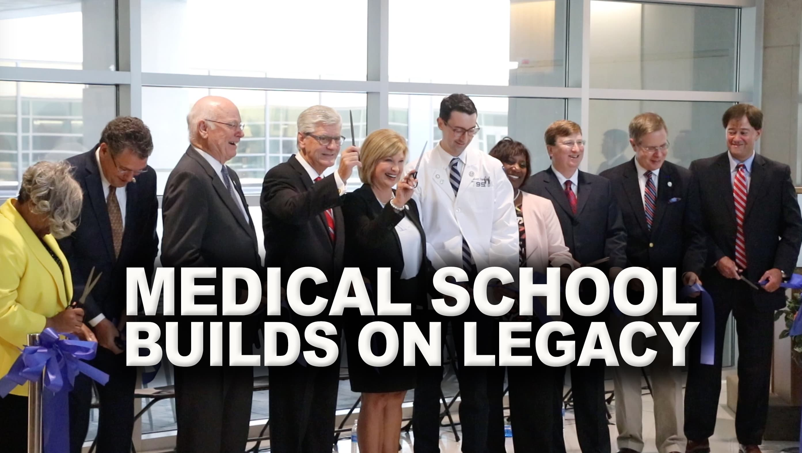 Video: Medical school's legacy is a roadmap to a healthier Mississippi